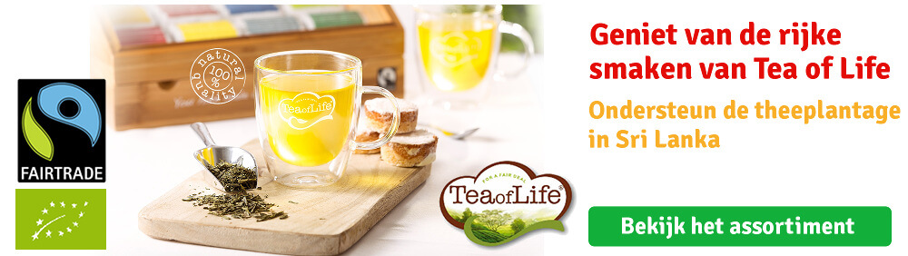 Tea of Life Fairtrade thee bij Langerak de Jong