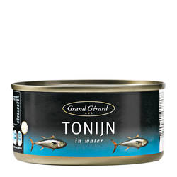 Grand Gerard Tonijn op water 185gr