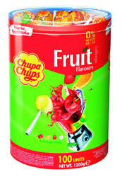 Chupa Chups Lollies fruit