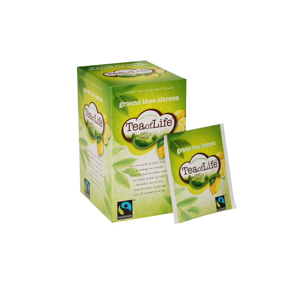 Tea of Life Groene thee citroen 2gr