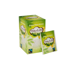 Tea of Life Groene thee citroen, fairtrade 2gr