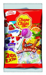 Chupa Chups Lollies the best of navulling