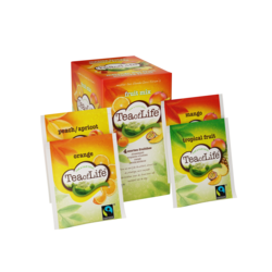 Tea of Life Fruit mix 4 smaken, fairtrade 2gr