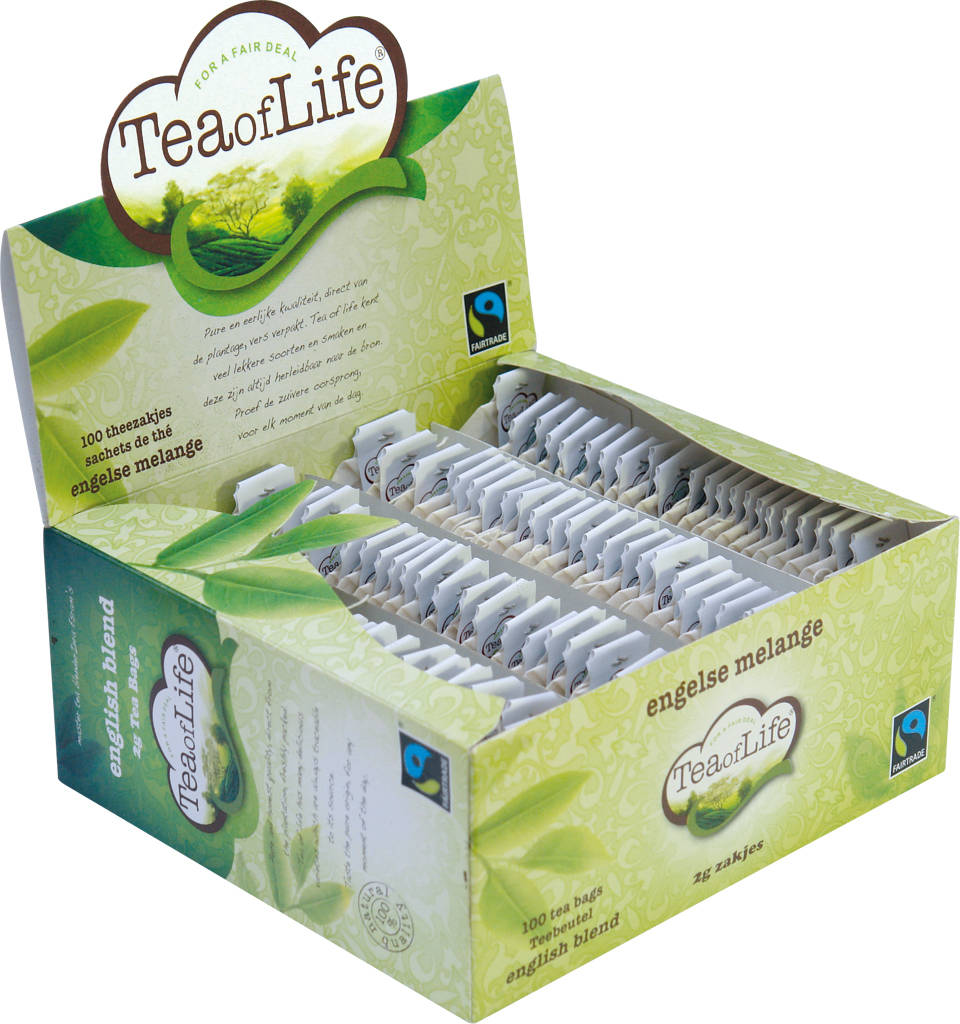 Tea of Life Engelse melange zonder envelop 2gr