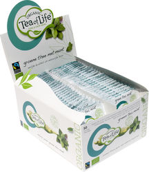 Tea of Life Groene thee munt, fairtrade + bio 1,75gr