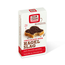 Fair Trade Original Hagelslag puur 15gr