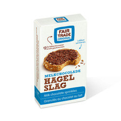 Fair Trade Original Hagelslag melk 15gr