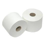Euro Toiletpapier compact wit 2-laags 100m