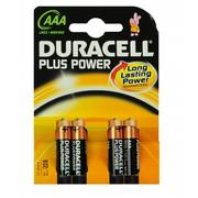 Duracell Batterij mn2400 AAA plus power