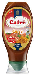Calve Curry knijpfles 430ml