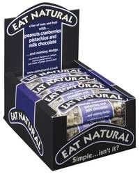 Eat Natural Cranberry choco 45gr