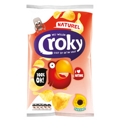 Croky Chips naturel 40gr