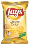 Lay's Chips cheese onion 175gr