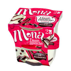 Mona Pudding dame blanche 90gr