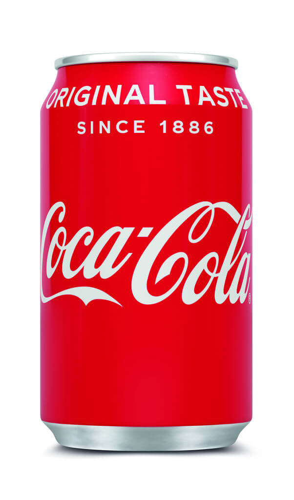 Coca Cola Regular blik 33cl