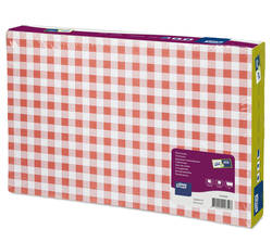 Tork Placemat bistro rood 27x42cm