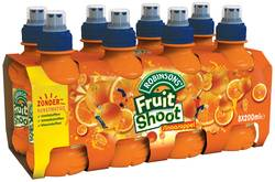 Teisseire Fruit shoot sinaasappel 20cl