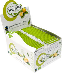 Tea of Life Groene thee citroen, fairtrade + bio 1,75gr