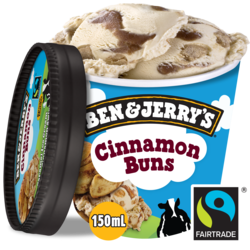 Ben & Jerry's IJs cinnamon buns 150ml
