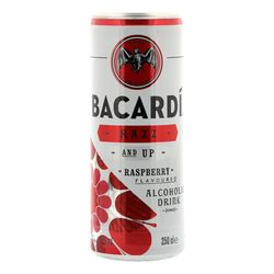Bacardi Razz & 7Up blik 25cl