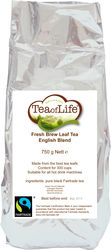 Tea of Life Fresh brew leaf tea fairtrade 750gr
