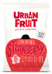 Urban Fruit Aardbei snacks 35gr