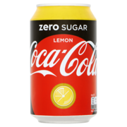 Coca Cola Zero Sugar lemon blik 33cl