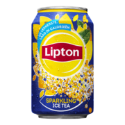 Lipton Ice Tea sparkling blik 33cl