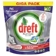 Dreft All in one tabs platinum regular zak a 90 stuks