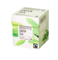 Bradley's Favourites green tea, fairtrade 1,75gr