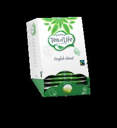 Tea of Life Pyramid English blend fairtrade 2gr