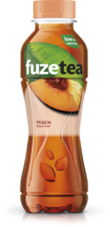 Fuze Tea Black tea peach petfles 40cl