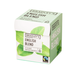 Bradley's Favourites English blend, fairtrade 2gr