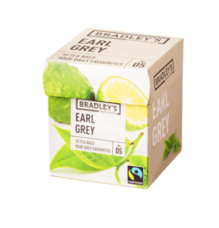 Bradley's Favourites earl grey, fairtrade 2gr