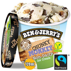 Ben & Jerry's Non dairy chunky monkey 120ml