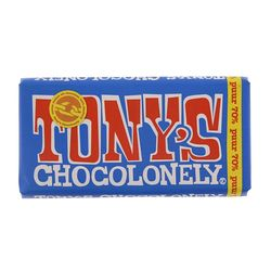 Tony's Chocolonely Chocoladereep puur FT 180gr