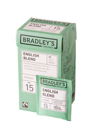 Bradley's English blend, fairtrade + biologisch 2gr