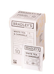 Bradley's White tea comomile,fairtrade + biologisch 2gr