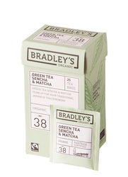 Bradley's Green tea sencha, fairtrade biologisch 1,5gr