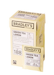 Bradley's Green tea leomen, fairtrade + biologisch 1,75gr