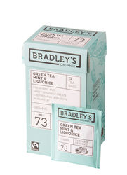 Bradley's Green tea mint & liquorice, ft + bio 1,75gr