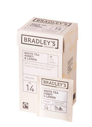 Bradley's White tea honey & lemon, ft + bio 1,75gr