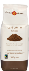 Primo Bravo Cafe creme fairtrade 8x500gr