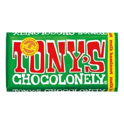 Tony's Chocolonely Chocoladereep melk hazelnoot FT 180g