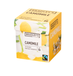 Bradley's Favourites camomile, fairtrade 1,2gr