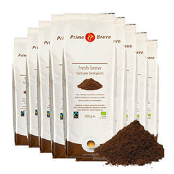 Primo Bravo Fresh brew fairtrade biologisch 10x750gr
