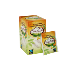 Tea of Life Groene thee sinaasappel/gember 1,75gr