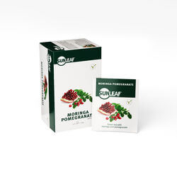 Sunleaf Green tea moringa pomegranate 1,5gr
