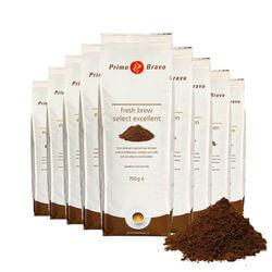 Primo Bravo Fresh brew select excellent 8x750gr
