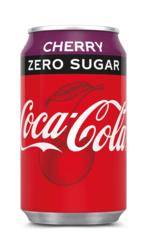 Coca Cola Zero Sugar cherry (4x6) blik 33cl
